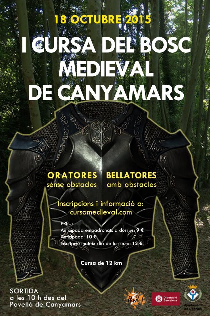 Cartell I Cursa del Bosc Medieval de Canyamars OK