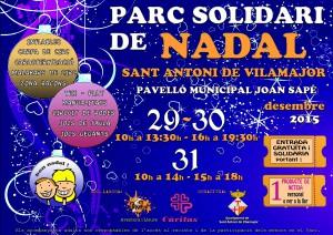 Cartell Parc Nadal Sant Antoni Vilamajor 2015 mitja